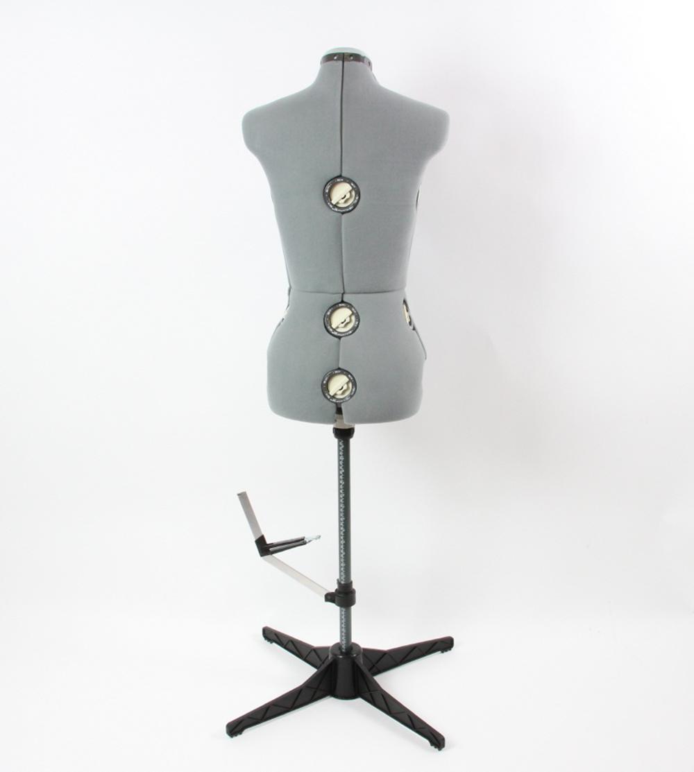 verstellbare schneiderpuppe schneiderb ste grau gr e l ebay. Black Bedroom Furniture Sets. Home Design Ideas