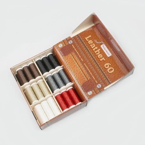 8d70411ee3ab3 Ackermann Nähgarn Leather Box Mix 6 Farben zu je 6 Rollen á 120m in ...